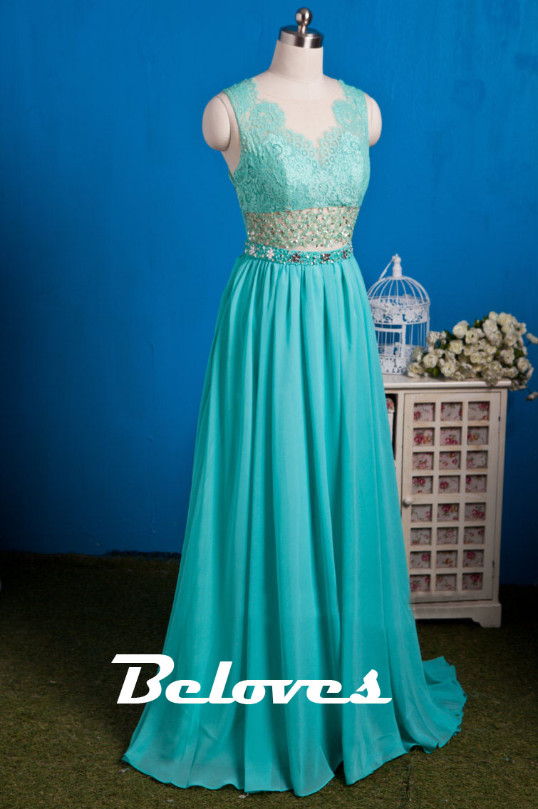 Mint Green Chiffon Dress