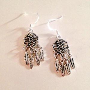 Aztec Dream Catcher Earrings