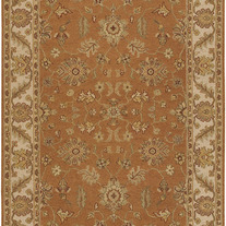 ORIENTAL RUGS POOSA ORANGE
