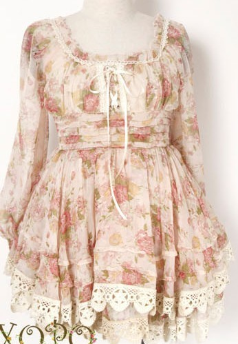 Online Dress Shops on Sweet Floral Liz Lisa Dress   Online Store Powered By Storenvy