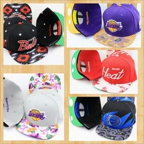 Basketball Floral Design SnapBack Hats