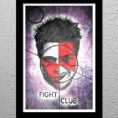 Fight club - tyler durden - pitt and norton