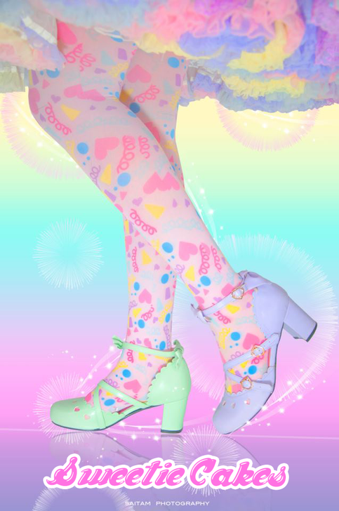 Confetti Party Tights
