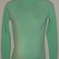 Green Turtleneck Sweater-Motherhood Maternity Size Small