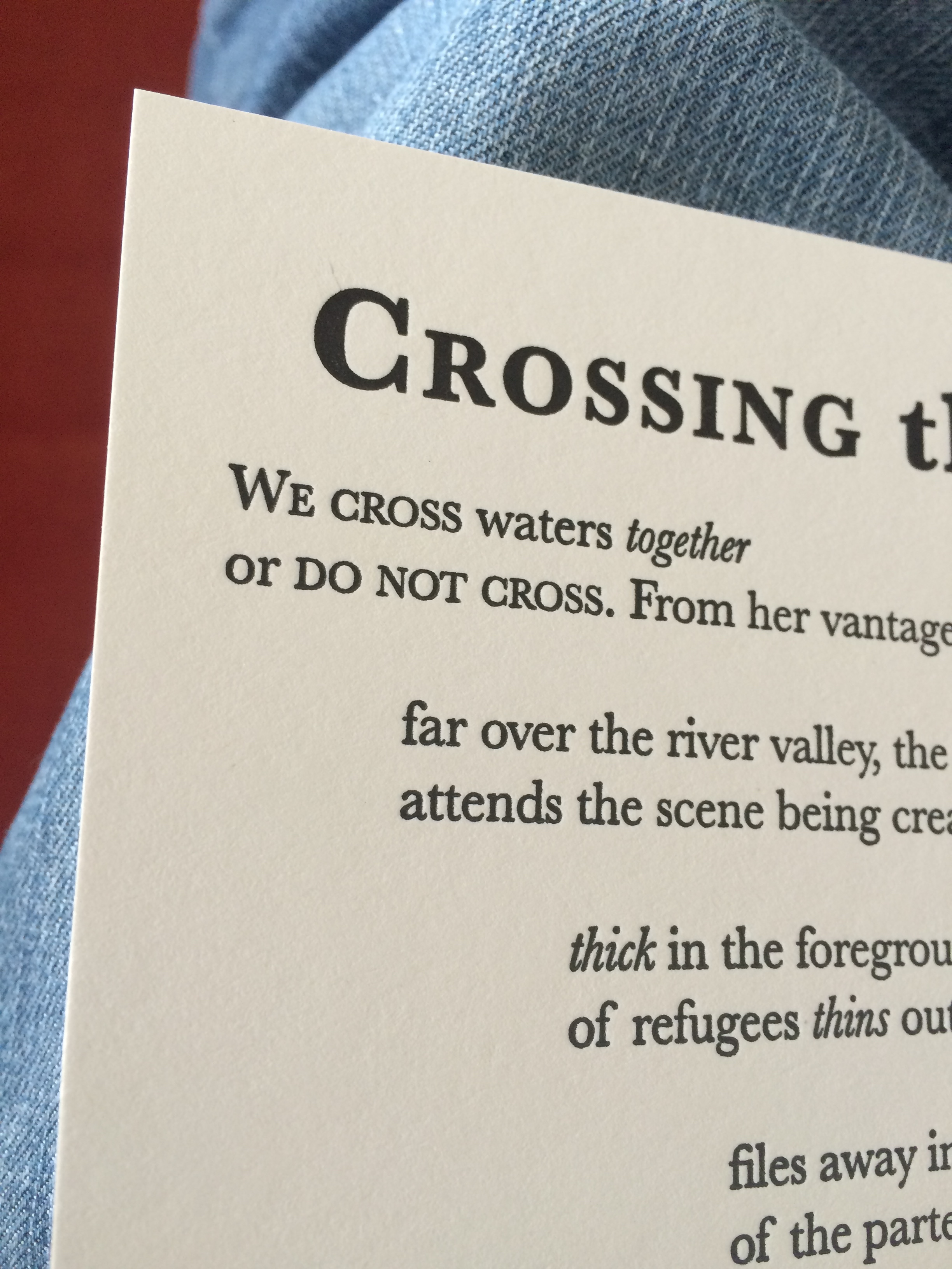 crossing the red sea poem essay Review essays jane wilkinson  edward kamau brathwaite, third world  poems (longman,  he may have crossed the jordan and the red sea he may.
