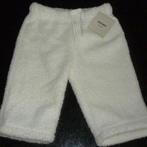 Creme Comfy Pants-NEW-Old Navy Size 3-6 Months