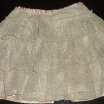 Gold Skirt-Baby Gap Size 2T