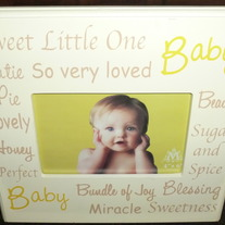 Descriptions of Baby Frame 4X6