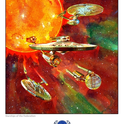 Starships of the federation