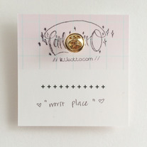 Worst Place Ribbon Illustrated Pin  medium photo