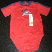 Red Arrgh Onesie-NEW-Jumping Beans Size 24 Months