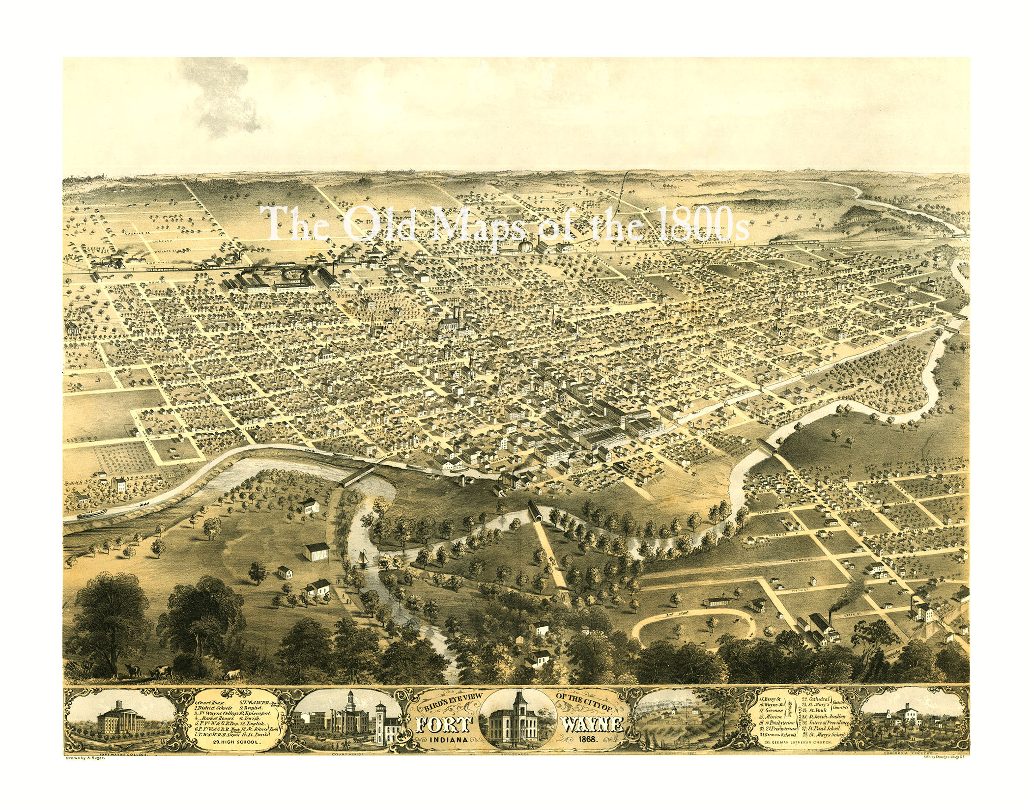 Home · The Old Maps of the 1800s · Online Store Powered by Storenvy