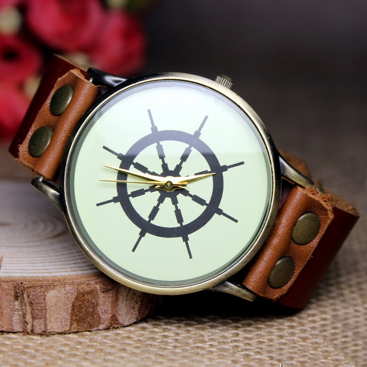 leather bamboo men and product wholesale handmade strap fashion cheap custom logo watches watch we wrist detail wood
