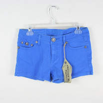 Bright Blue Denim Shorts (Brand New)