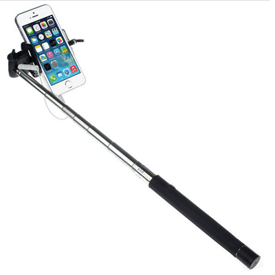 selfie stick handy extendable portrait photo tripod black holder shopcma. Black Bedroom Furniture Sets. Home Design Ideas