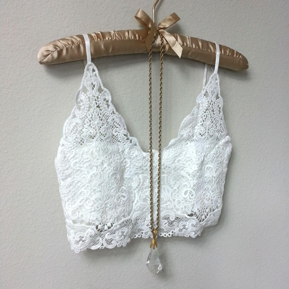 e58f021110 white lace bralette - Ecosia
