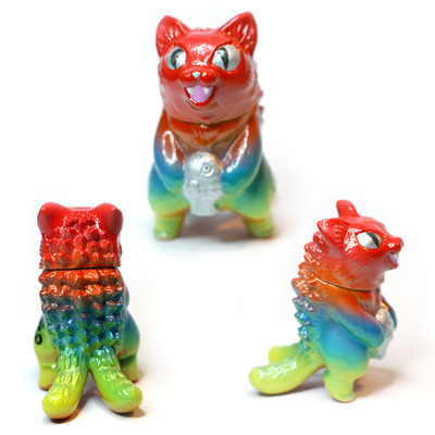 Maxtoy tribe neggy micro negora kaiju cat custom