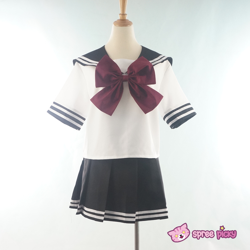 how to make seifuku uniform