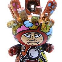 "City Twin One 3"" custom Dunny"
