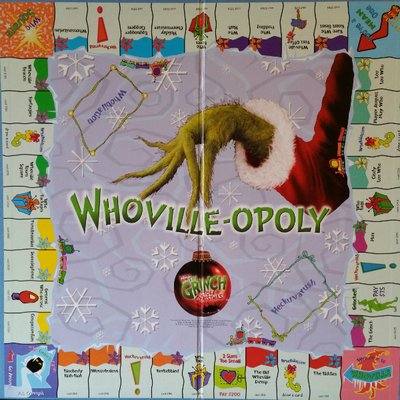 Whoville-opoly board game bow ties