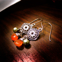 A Duo at the Spice Bazaar Earrings