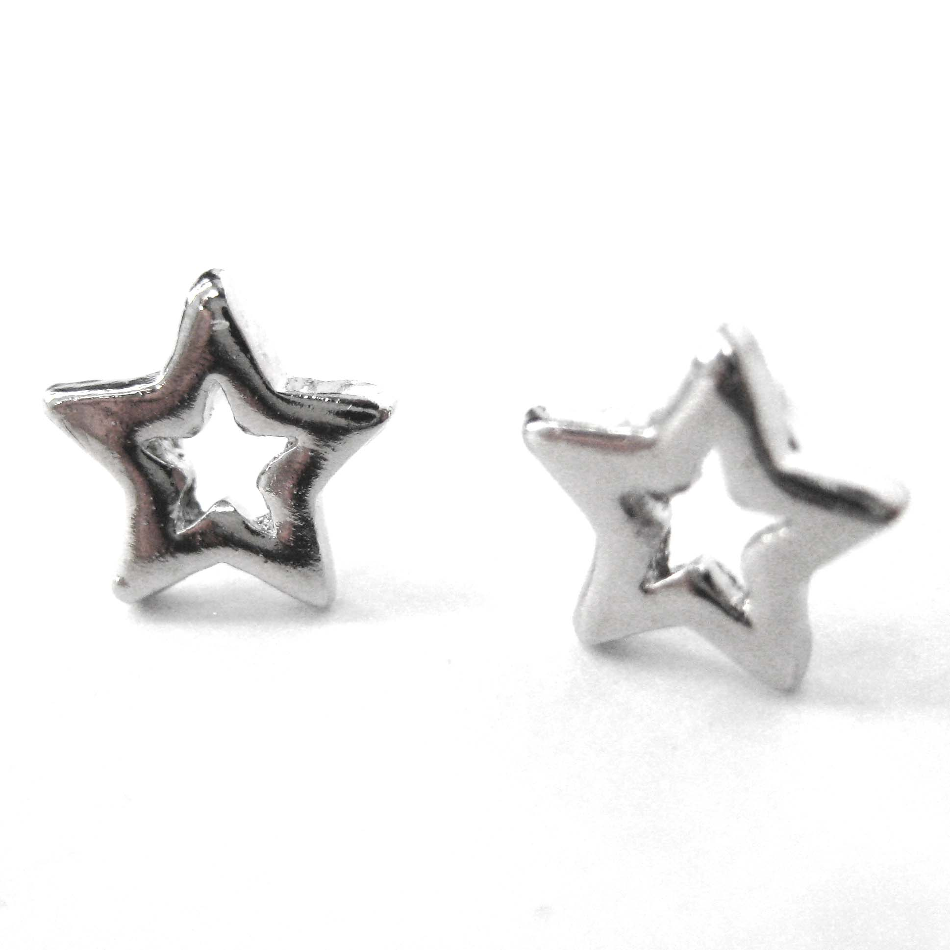 tiny collins studs gracie star shop img shaped earrings