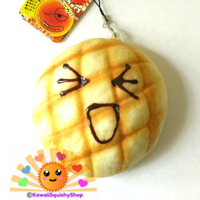 Jumbo 10 cm pineapple melon bun squishy charms