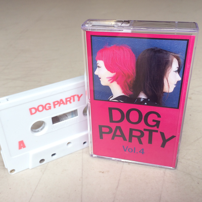 "Dog party ""vol. 4"" tape"