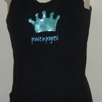 Prince in Progress Tank Top-Mudpie Size One Size  GS513
