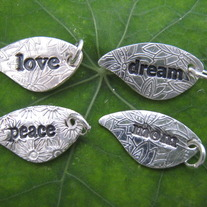 Leaf love, peace, dream, mom