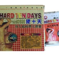 Hard Ten Days 6 capsules Male Sexual Enhancement