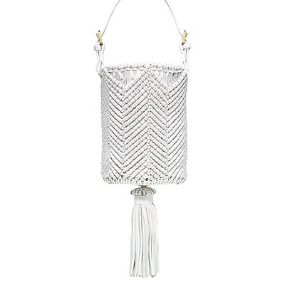 Tory burch macrame bucket bag