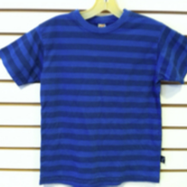 Charlie Rocket Blue Stripe Shirt