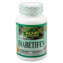 Diabetifen 60 capsules by Alfa Vitamins (Replaces Alfa's Sugar Control)