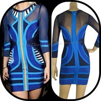 Renee Bandage Dress