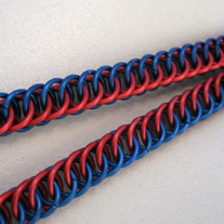 Lanyard - Red/Blue