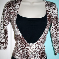Safari Crop Cardigan