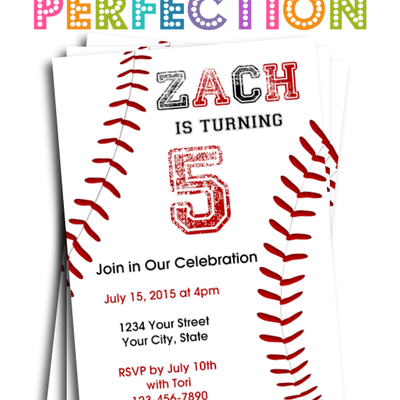sport theme invitation baseball scoreboard printable perfection