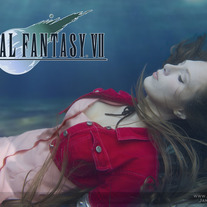 Aerith Gainsborough Burial Cosplay Print #5 medium photo