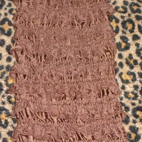 Brown Lace Petti Romper-Size 2T/3T