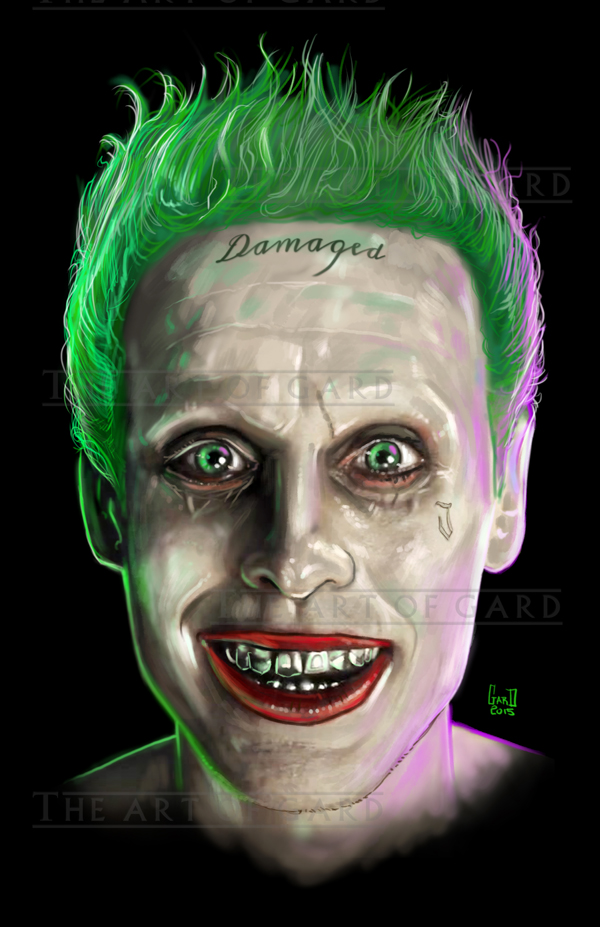 Jared Leto Joker Art