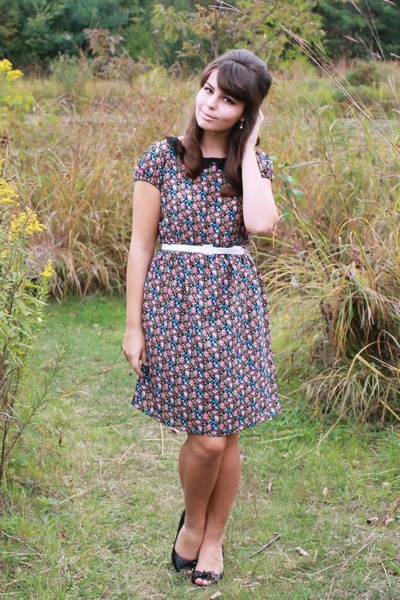 Ditzy Floral Dress.