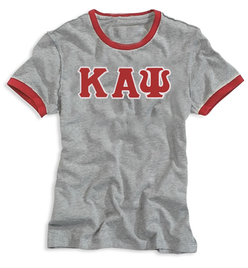 Kappa Alpha Psi Apparel Kappa Alpha Psi Grey Ringer
