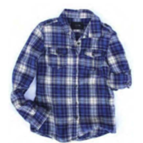 Joe's Jeans Plaid Long Sleeve Flannel Shirt, Two Colors