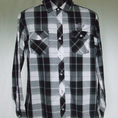 43mc plaid button ups