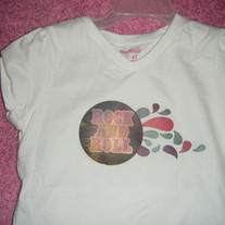 4T Girls Rock and Roll Tee