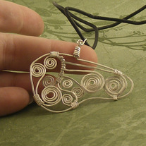 On the Wing, a Butterfly Pendant
