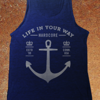 Anchor AA Tri-Blend Tank-Top