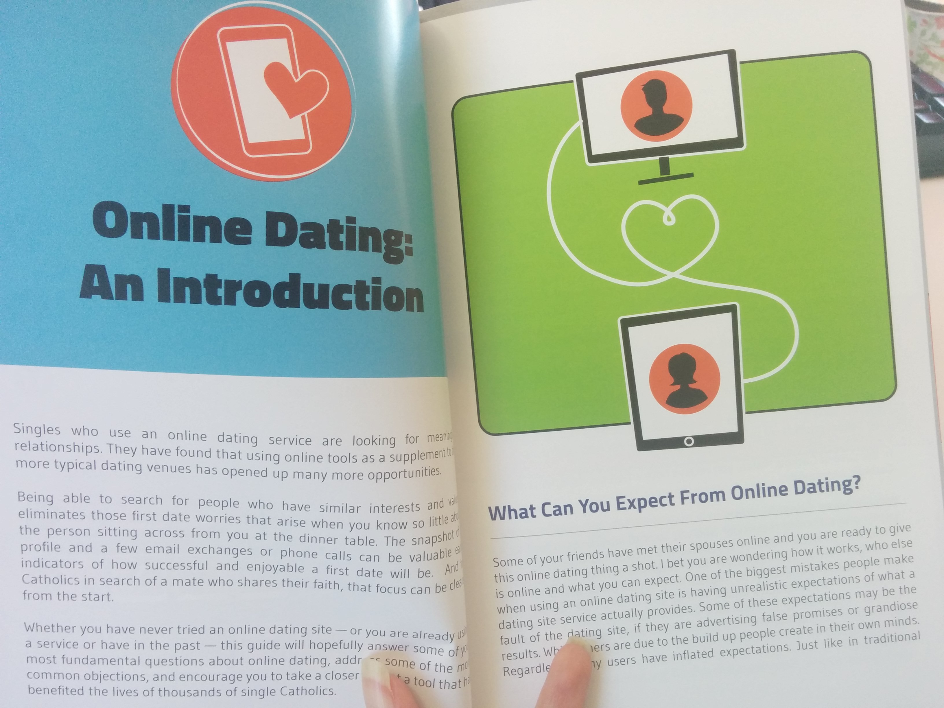 internet dating guide Dating tips for men about you  i've done online dating now for about a year in my case,  by paulette cohn for eharmony advice.