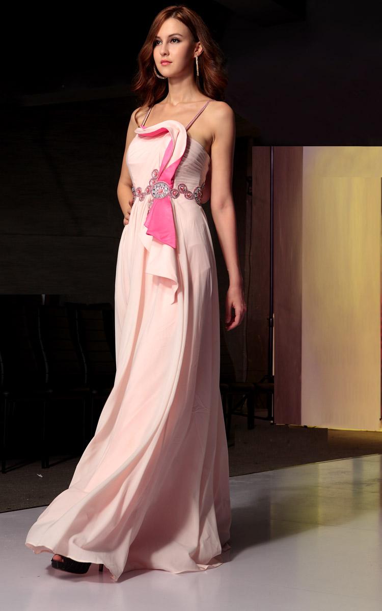 YZ Pink Sexy suspender Korean wedding bride wedding dress neat ...